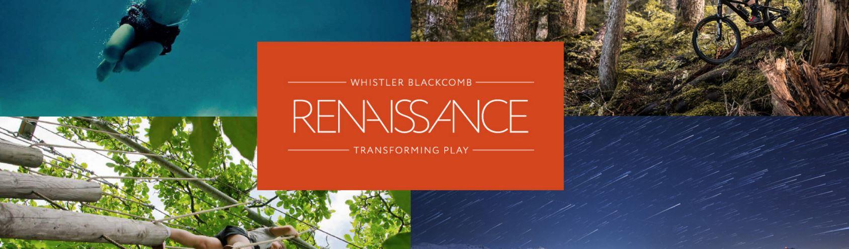 Proyecto Renaissance de Whistler Blackcomb invertirá $345 milliones