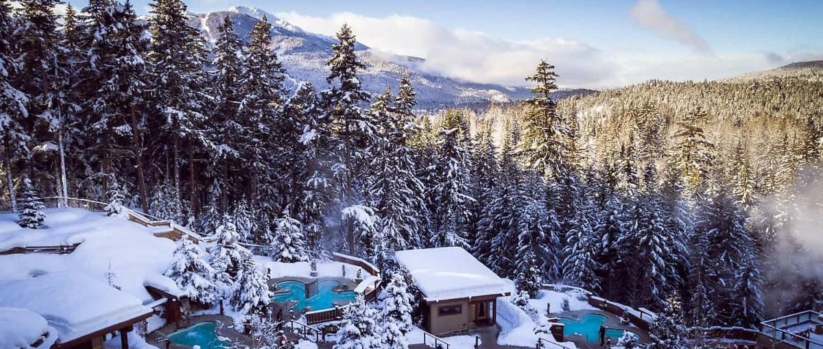 Los 5 mejores Spas de Whistler (invierno 2020)